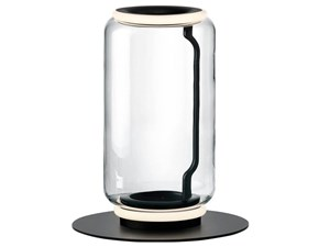 Lampada da terra in cristallo Noctambule floor 1 high cylinders small base Flos a prezzo Outlet