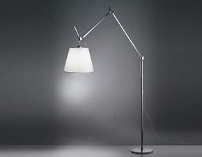 Lampada da terra in metallo Lampada tolomeo  mega Artemide a prezzo Outlet