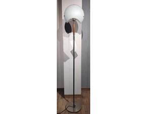 Lampada da terra in metallo Vetro-ciliegio Lamp2 a prezzo Outlet