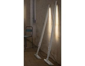 Lampada da terra in plastica Rastrello, collezione tobia Karman a prezzo Outlet