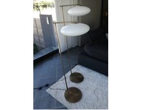 Lampada da terra in vetro Mamì Penta illuminazione a prezzo Outlet