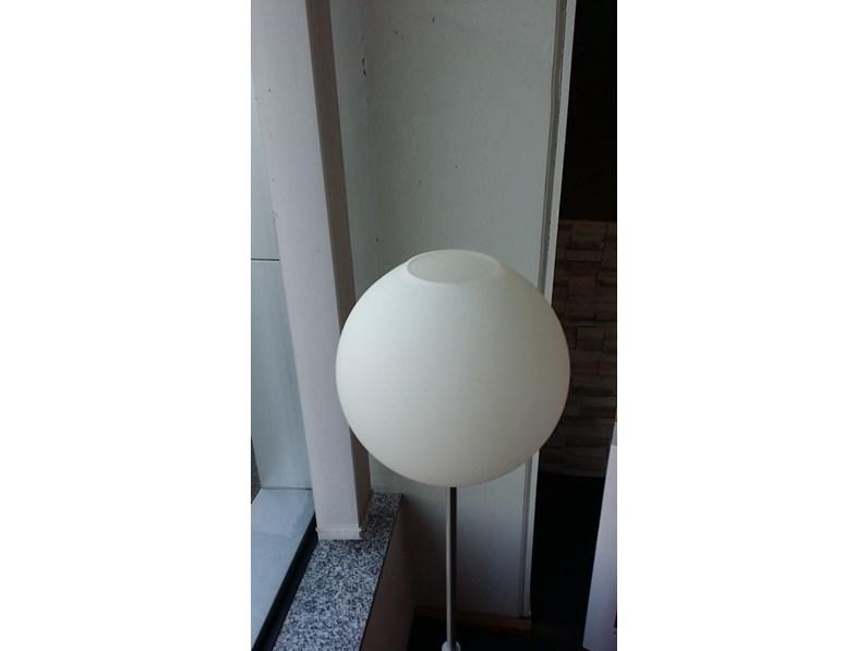 Lampada da terra interni luce ball prezzo outlet