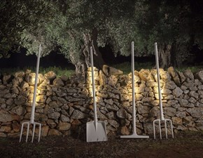 Lampada da terra Karman Tobia piantana indoor  stile Design con forte sconto