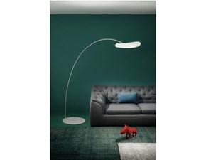Lampada da terra Linea light Me magoo Bianco a prezzi outlet