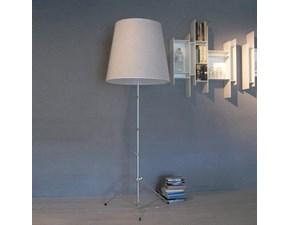 Lampada da terra Pallucco Gilda pallucco Bianco a prezzi outlet