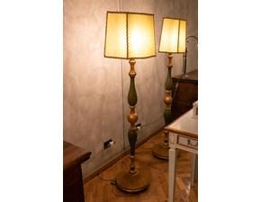 Lampada da terra stile Classica Lampada artigianale stile fiorentino Artigianale in offerta outlet