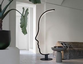 Lampada da terra stile Design Vis a vis Mogg in offerta outlet