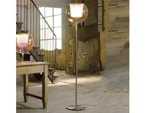 Lampada da terra stile Moderno Penta glo terra cromo  Penta illuminazione in saldo