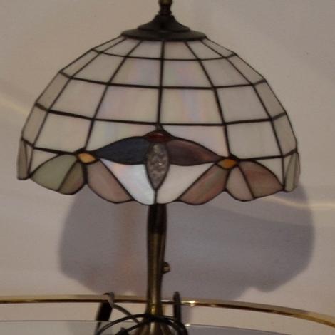 Lampada in vetro stile Liberty - Illuminazione a prezzi scontati