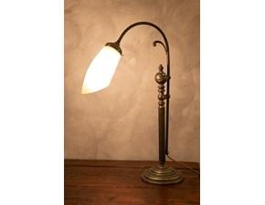 Lampada Lampada da tavolo ottone brunito Grande arredo in OFFERTA OUTLET