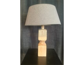 Lampada Lampada in legno Artigianale in OFFERTA OUTLET