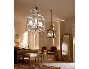 Lampada Lanterna 4 luci con paralumi Silvano grifoni in OFFERTA OUTLET