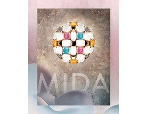Lampada Mida 50 cm multicolor Slamp in OFFERTA OUTLET