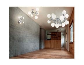 Lampada Nodino cromo lucido d.cm 89 Ideal lux in OFFERTA OUTLET