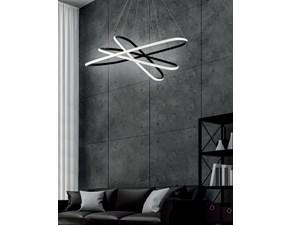 Lampada Ondaluce sospensione quadra O-luce in OFFERTA OUTLET