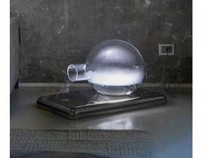 Lampada da terra Trecinquezeroluce Dama by Marco Rota in cristallo