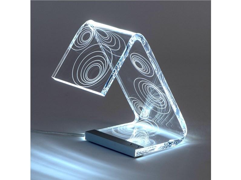 Lampada vesta design mod. c led piccola a prezzi outlet