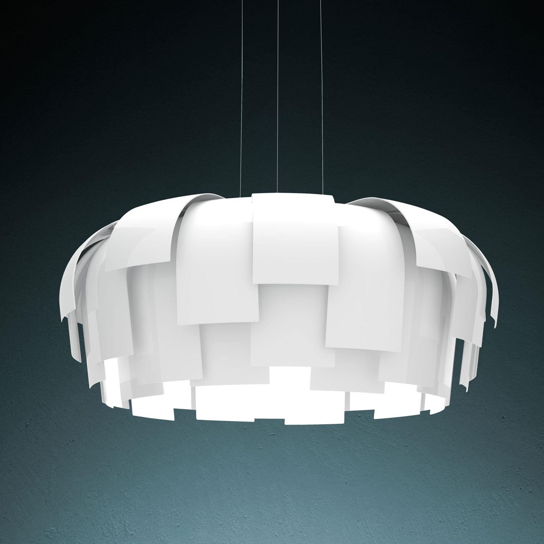 Lampada  u0026quot;Wig u0026quot; Fontana Arte   Illuminazione a prezzi scontati -> Lampadari Moderni Fontana Arte