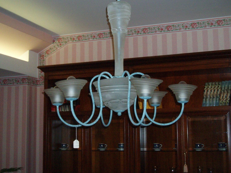 Lampadari 6 luci illuminazione a prezzi scontati for Outlet lampadari milano