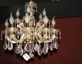 Lampadario da soffitto stile classico Italian light production in sconto
