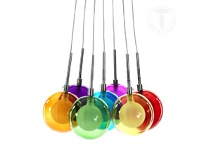 Lampadario Tomasucci modello Spheres Colors