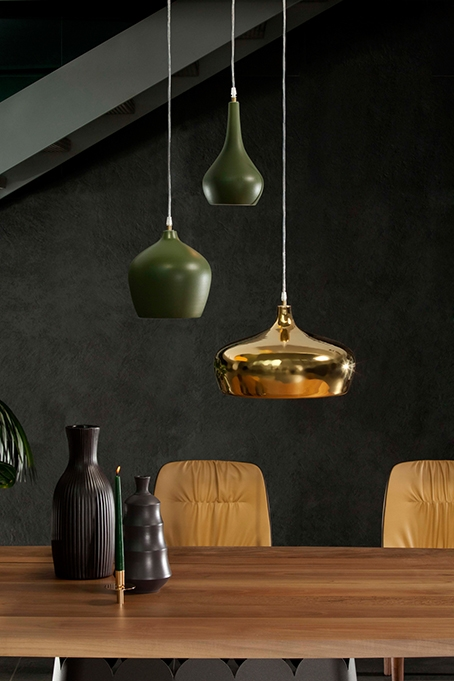 Lampade a sospensione in ceramica, design by tonin casa, modello goldie, nuove a prezzo scontato ...
