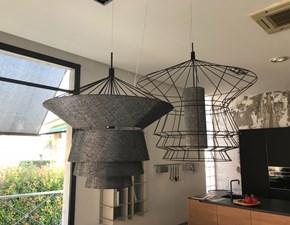 Lampade a sospensione in metallo Bolero e Zeppelin Cattelan in Offerta Outlet