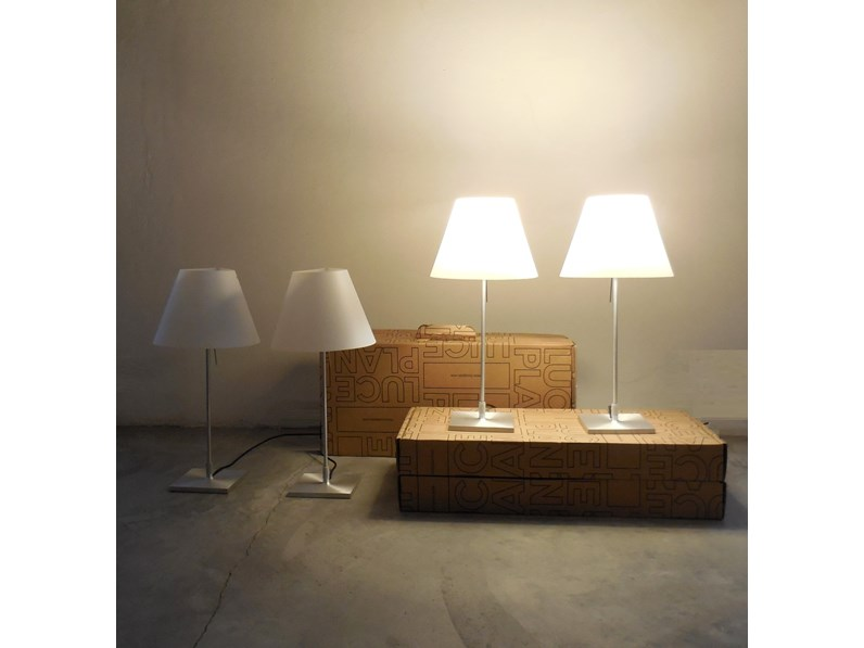 Illuminazione luceplan lampada costanzina luceplan vendita for Mobilificio online