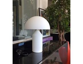 O-Luce Illuminazione Atollo 237 opal glass Vetro Lampade da tavolo Design