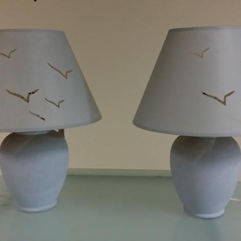 Outlet lampade da tavolo interni luce gabbiani for Lampade design outlet