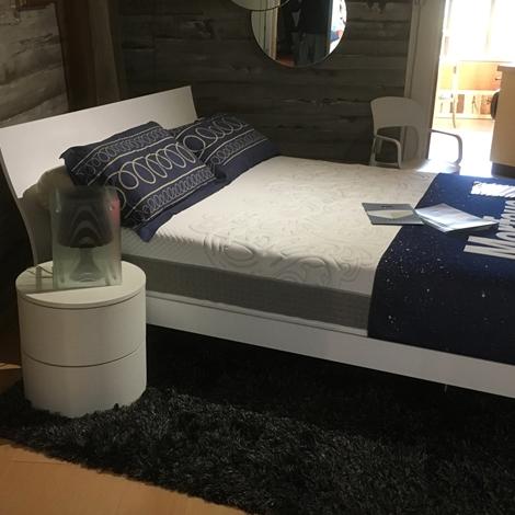 Caccaro letto mod filesse matrimoniale moderno legno - Letto moderno legno ...