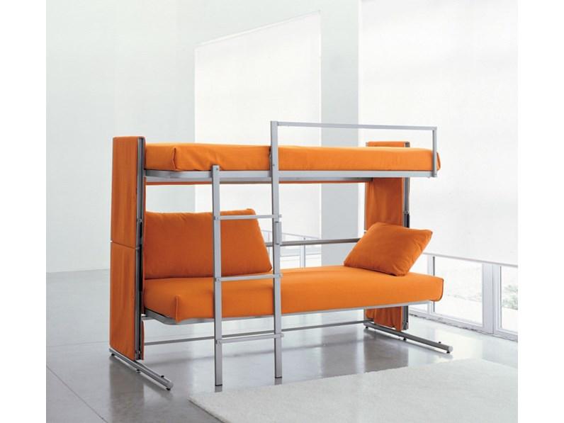 Clei divano a castello apribile forti sconti sul nuovo - Divano letto a scomparsa prezzo ...