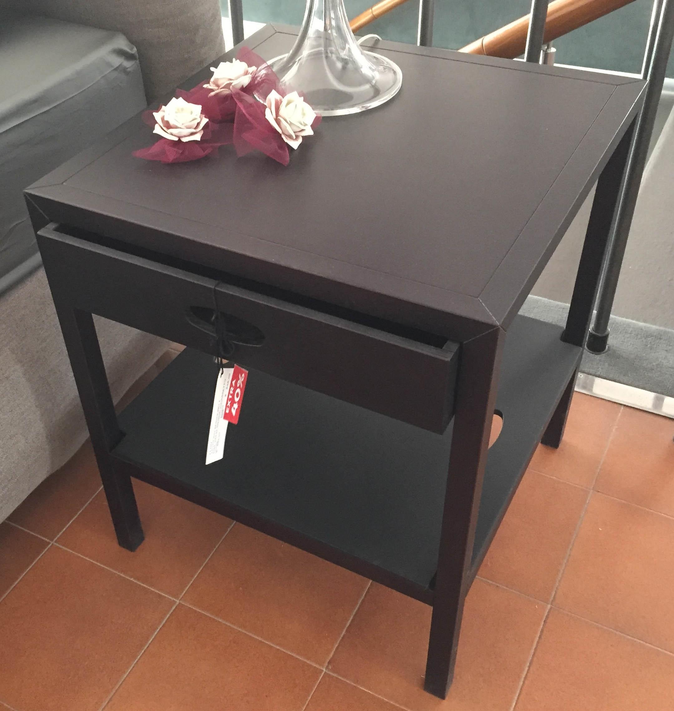 Comodino spigoletto flou legno wenge letti a prezzi scontati for Letti in legno moderni prezzi
