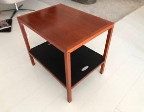 comodino tavolino Spigoletto flou legno ciliegio