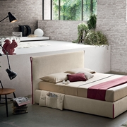 letto Tim con Clean Up System