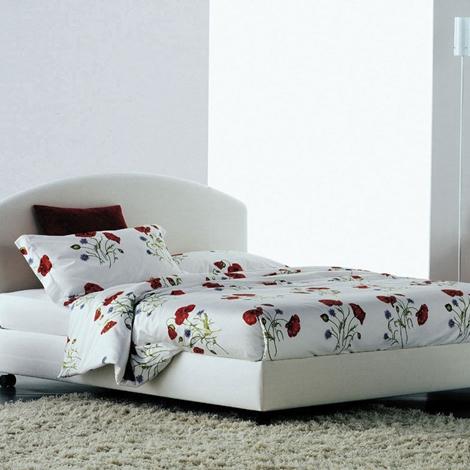 Flou magnolia letto matrimoniale contenitore in tessuto - Letto contenitore flou ...