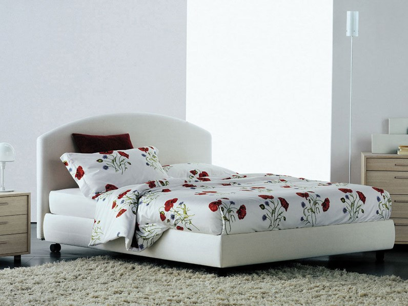 Beautiful letto matrimoniale flou images acrylicgiftware for Outlet copripiumini flou