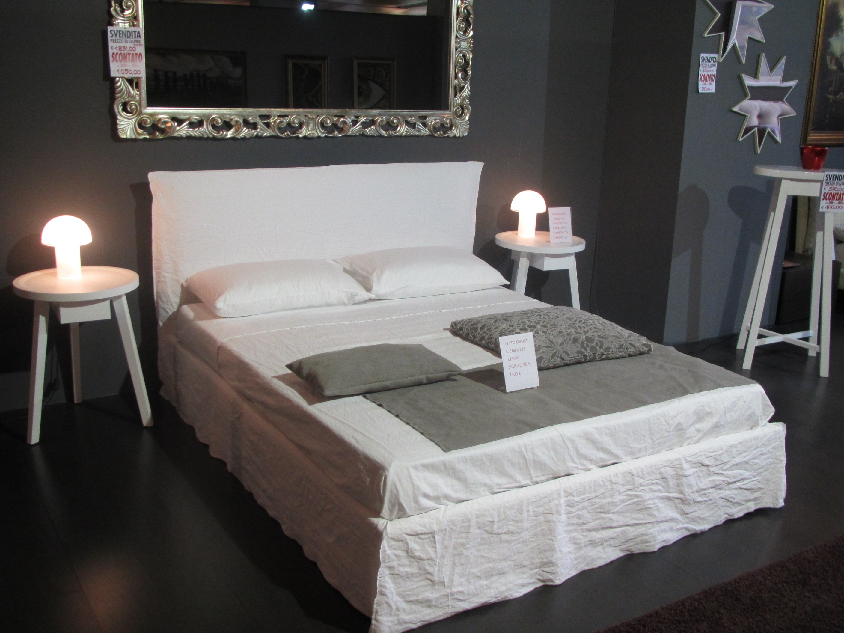 ghost gervasoni outlet letti a prezzi scontati. Black Bedroom Furniture Sets. Home Design Ideas
