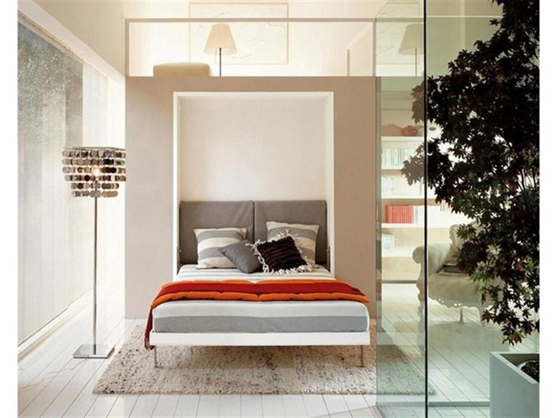 Letto a scomparsa matrimoniale in legno penelope for Prezzo camera da letto matrimoniale