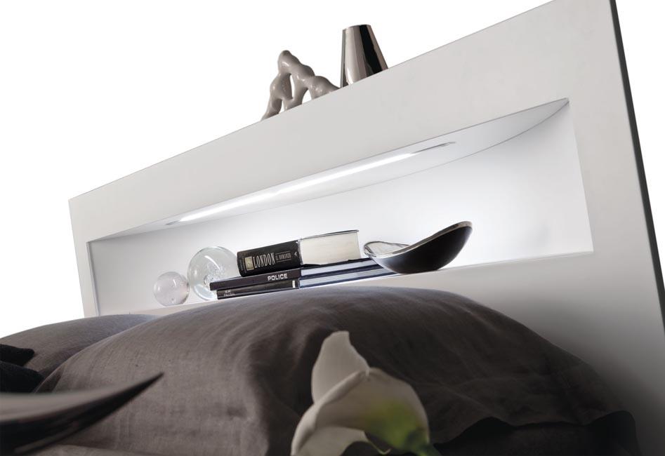 Letto ad angolo mod.artik di fimesfinitura letto laccato opaco colore ...