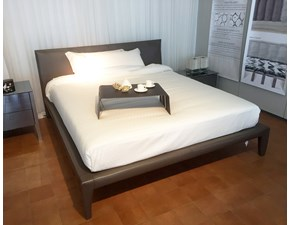 LETTO Alicudi cuoio Flou in OFFERTA OUTLET