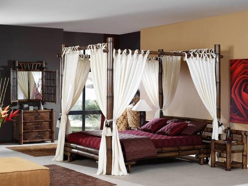 Tende per letto a baldacchino idee creative e innovative - Baldacchino per letto matrimoniale ...