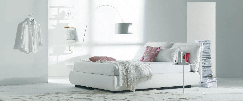 Letto bontempi casa malou matrimoniale moderno imbottiti for Outlet letti design