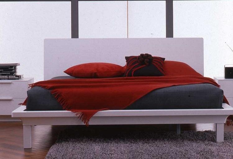 Casa immobiliare accessori letto matrimoniale moderno in - Letto matrimoniale moderno in legno ...