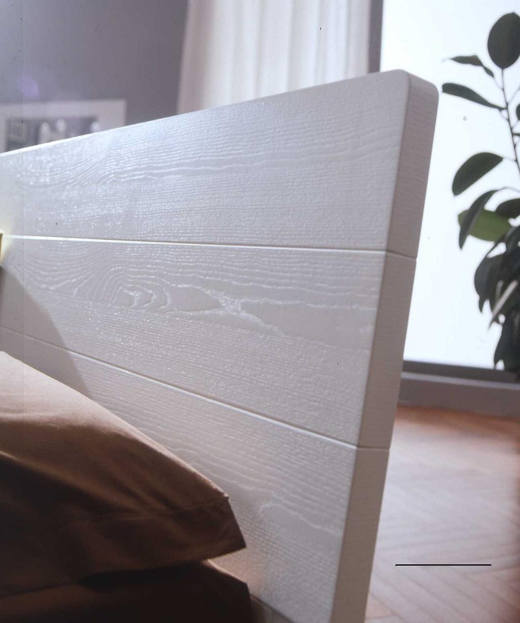 Letto cenedese blink matrimoniale moderno legno letti a - Letto moderno legno ...