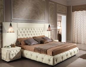Letto classico Letto imperiale pelle luxury italia Md work con uno sconto esclusivo