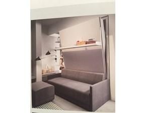 Letto a scomparsa clei con divano prezzi scontati