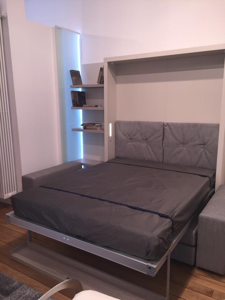 Clei letto tango 270 prezzo scontato outlet letti a - Letto a scomparsa clei ...