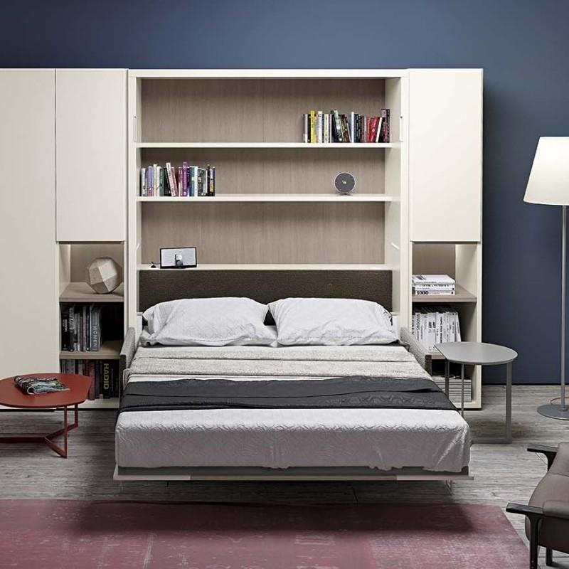 Clever letto nobu scontato del 30 letti a prezzi for Ikea letto ribaltabile