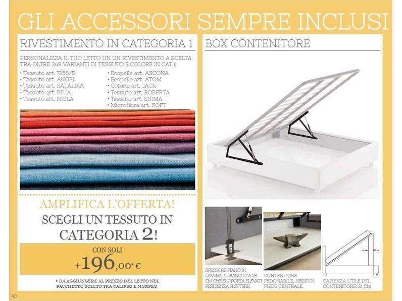 Letto con contenitore selene marca lettissimi for La marca arredamenti